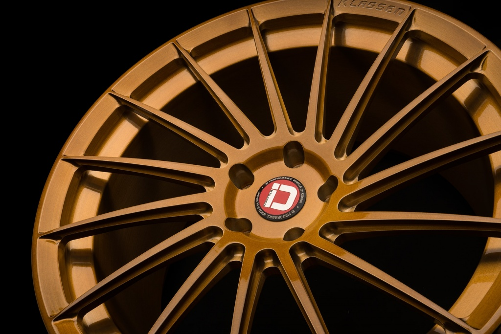 klassenid wheels klassen id wheel rim rims rotational monoblock brushed monaco gold rotational directional tire tires