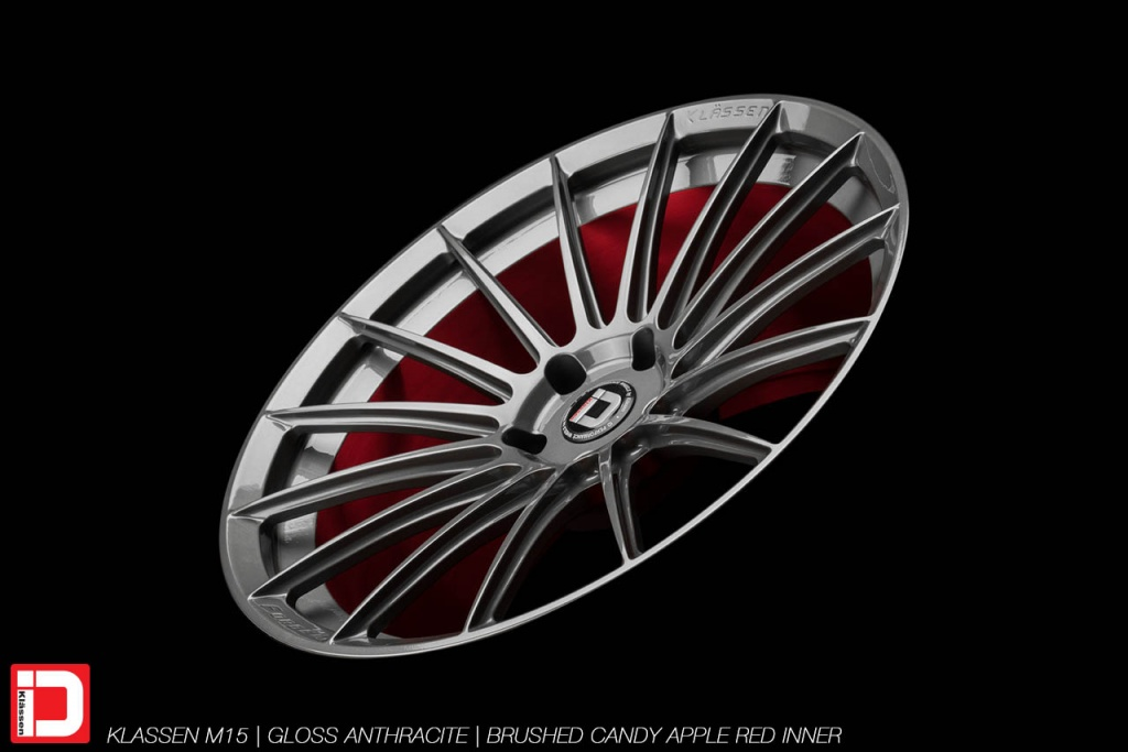 klassenid-wheels-m15-monoblock-non-directional-gloss-anthracite-face-brushed-candy-apple-red-inner-barrel-15