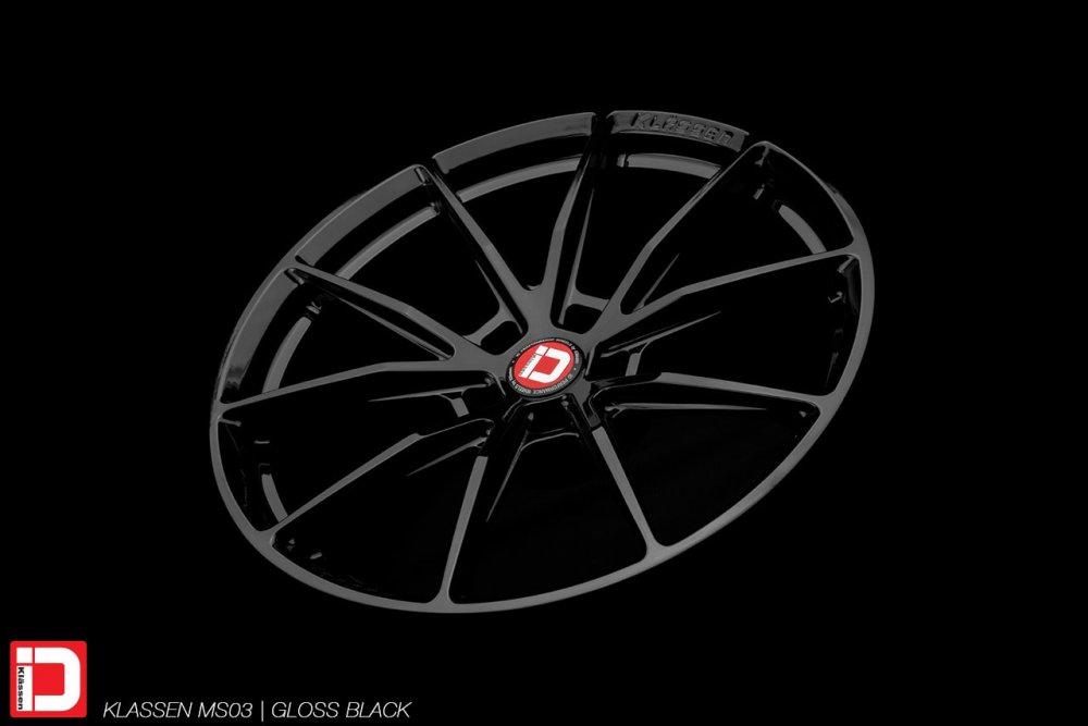 klassenid wheels ms03 forged monoblock gloss black rim rims tire tires wheel klassen klassenidwheels lightweight track racing