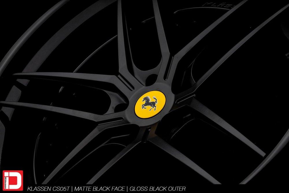 klassenid-wheels-klassen-cs05t-matte-black-face-gloss-lip-machined-for-oe-oem-ferrari-centercap-4-min