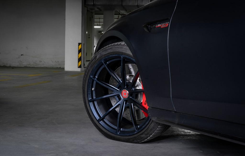 klassen klassenid wheels rims ms03 matte blue abyss mercedes benz e63 amg wagon estate custom concave forged monoblock