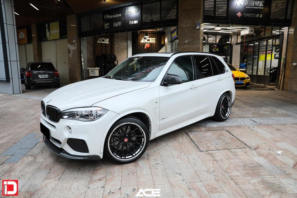 klassen klassenid wheels rims custom forged concave bmw x5m white cs10x mesh matte black chrome lip suv
