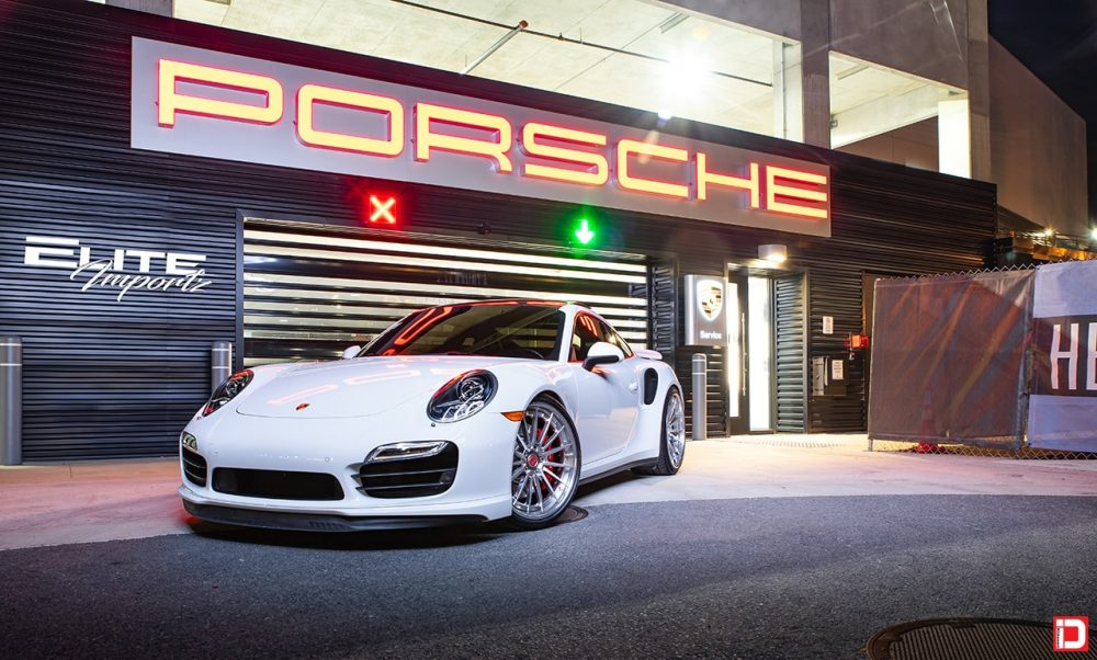 white porsche 991 911 carrera turbo klassenid wheels klassen id cs35s custom forged concave forged polished face chrome lip hardware