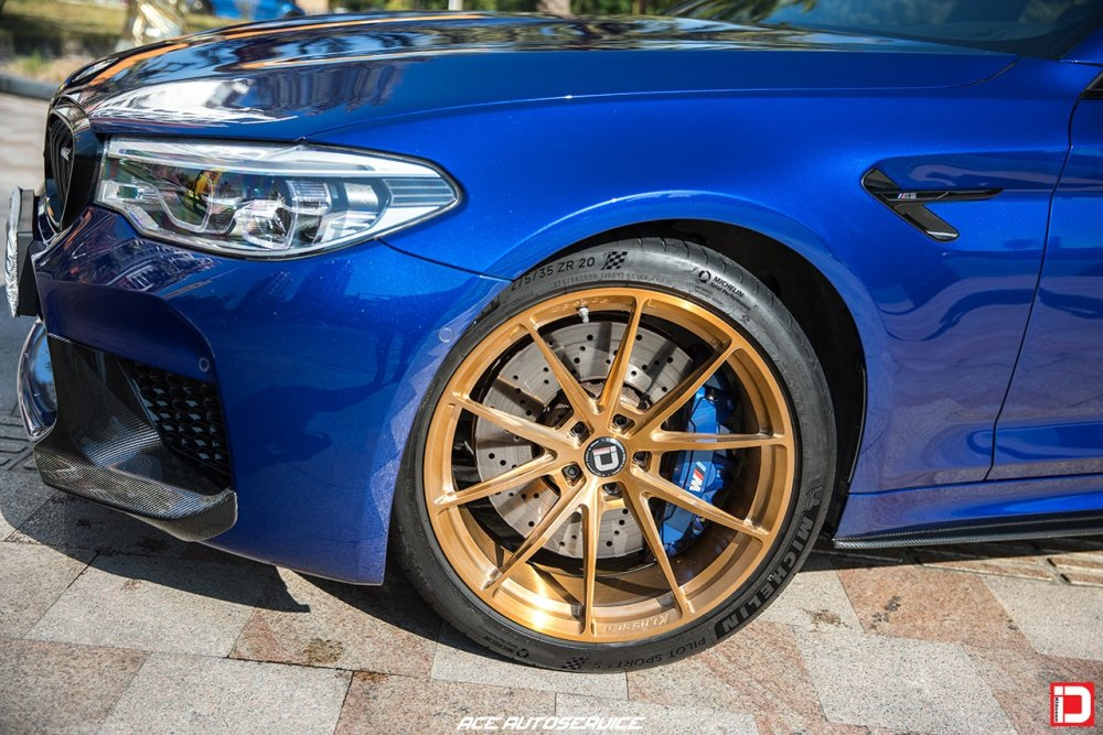 BMW F90 M5 – KlasseniD Wheels MS03 Brushed Monaco