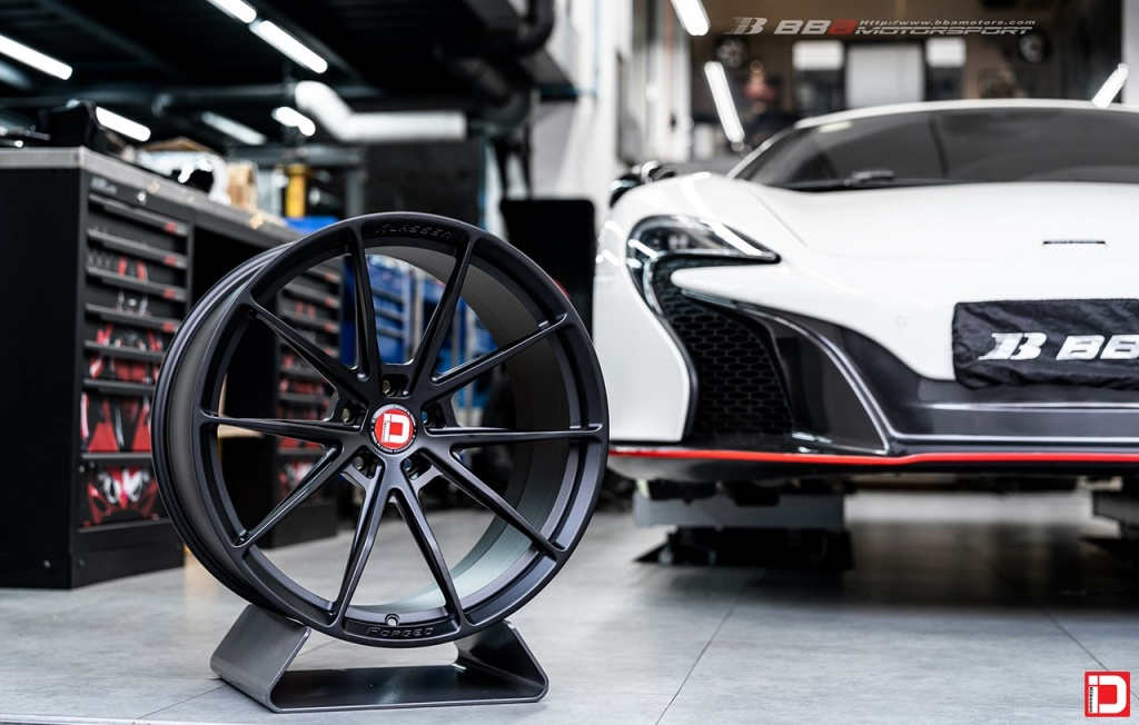 white mclaren 650s klassen klassenid wheels rims ms03 matte black supercar coupe 675lt 720s custom concave forged monoblock 20in 20inch