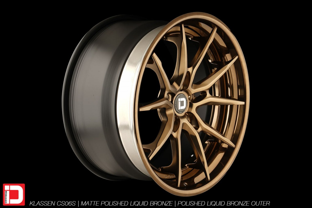 klassen klassenid wheels rims custom forged concave matte polished liquid bronze split spoke split 21in 21inch