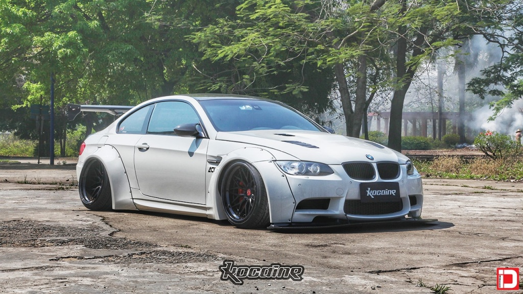 Bmw E92 M3 Liberty Walk Klassenid Wheels Cs10x Matte Black Form Function Fitment