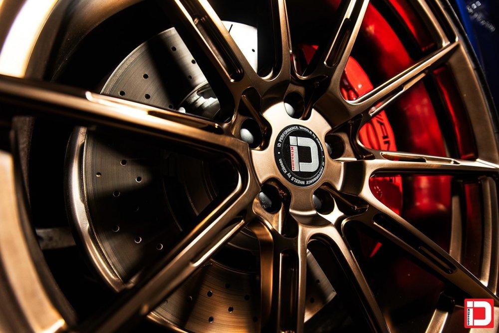 Mercedes-Benz C63S AMG – KlasseniD Wheels M07R Matte Polished Liquid Bronze