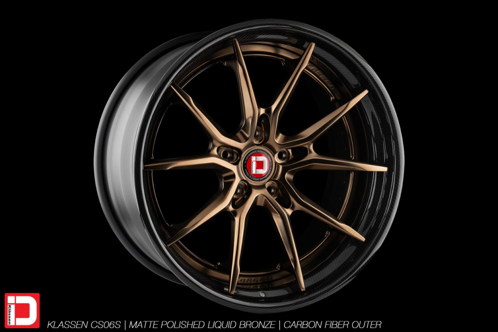 klassen klassenid wheels rims custom forged concave carbon fiber lip deep dish bespoke matte polished liquid bronze split spoke split 21in 21inch