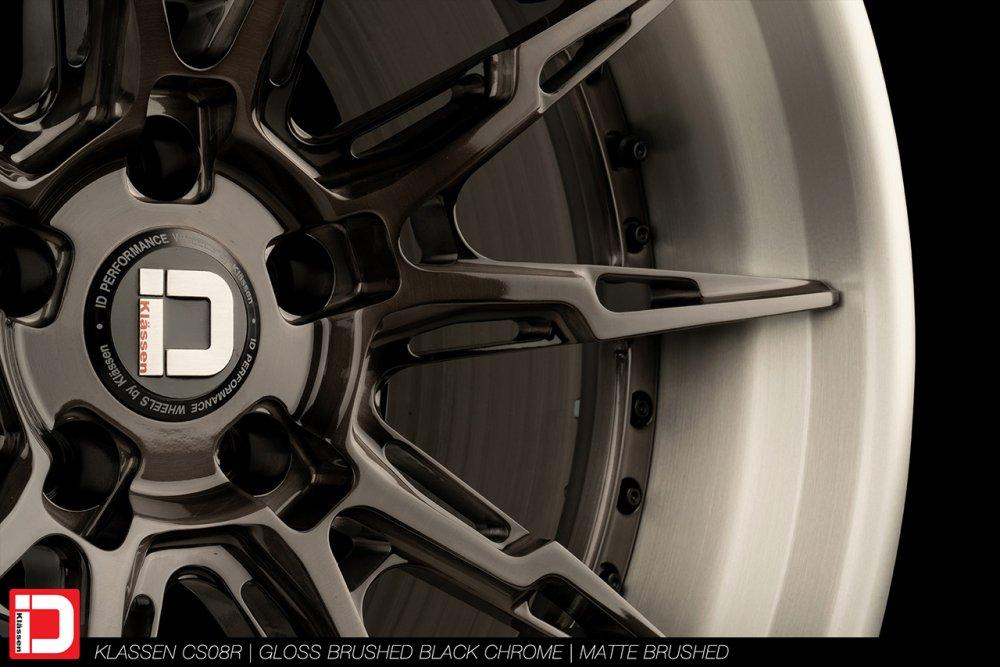 klassen-id-cs08r-gloss-brushed-black-chrome-matte-brushed