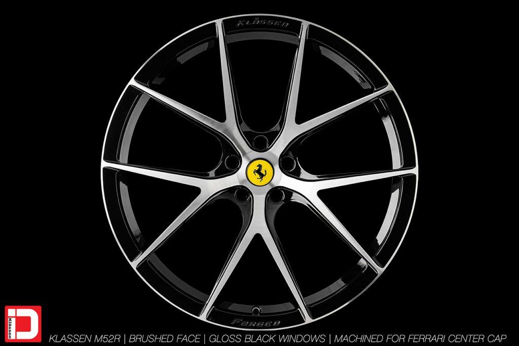KlasseniD Wheels M52R - Brushed with Gloss Black Windows 1