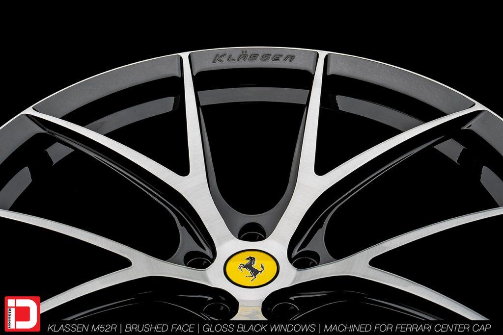 KlasseniD Wheels M52R - Brushed with Gloss Black Windows 12