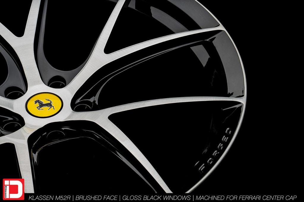 KlasseniD Wheels M52R - Brushed with Gloss Black Windows 13