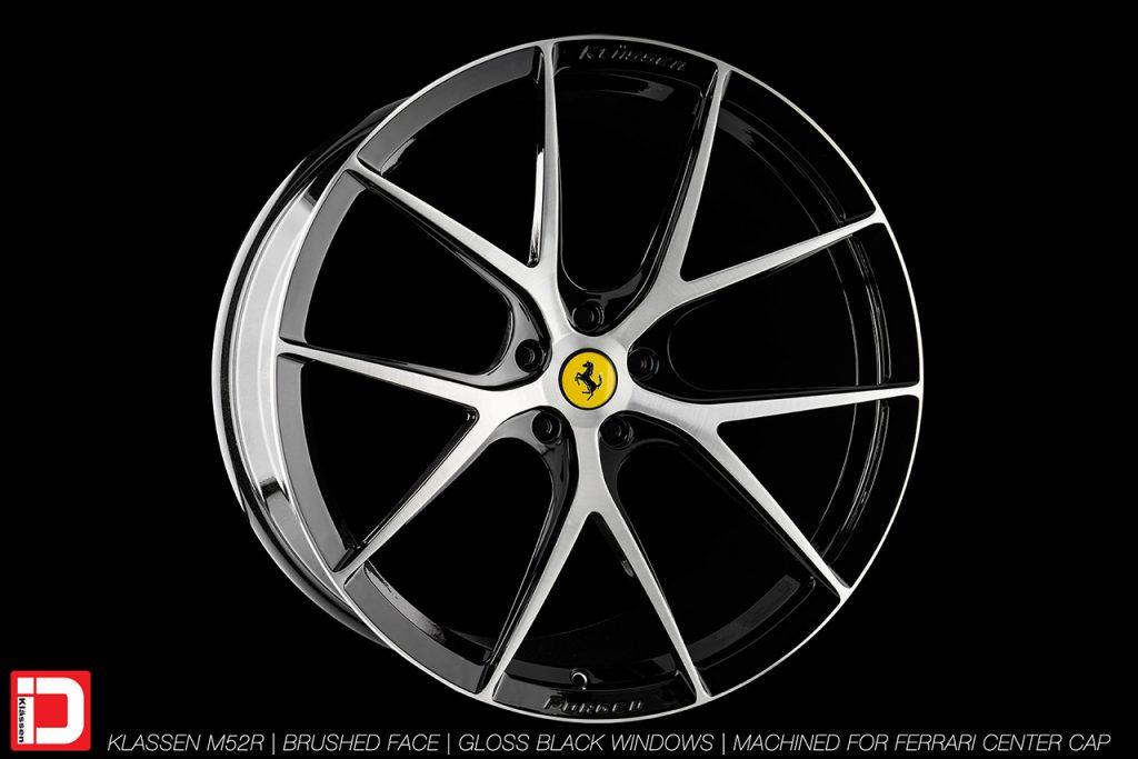 KlasseniD Wheels M52R - Brushed with Gloss Black Windows 2
