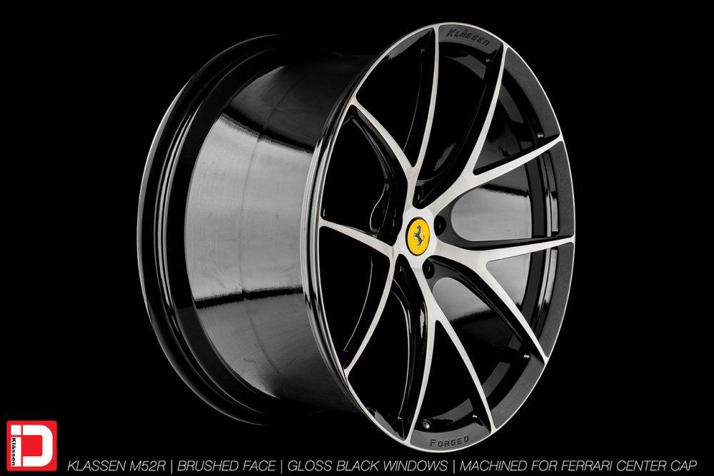 KlasseniD Wheels M52R - Brushed with Gloss Black Windows 3