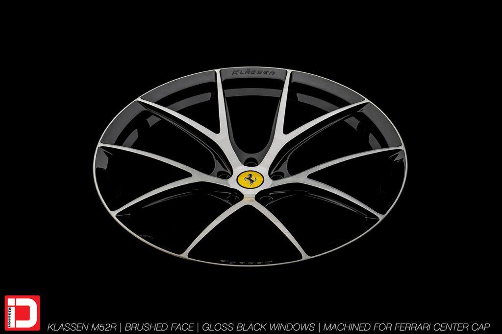 KlasseniD Wheels M52R - Brushed with Gloss Black Windows 5