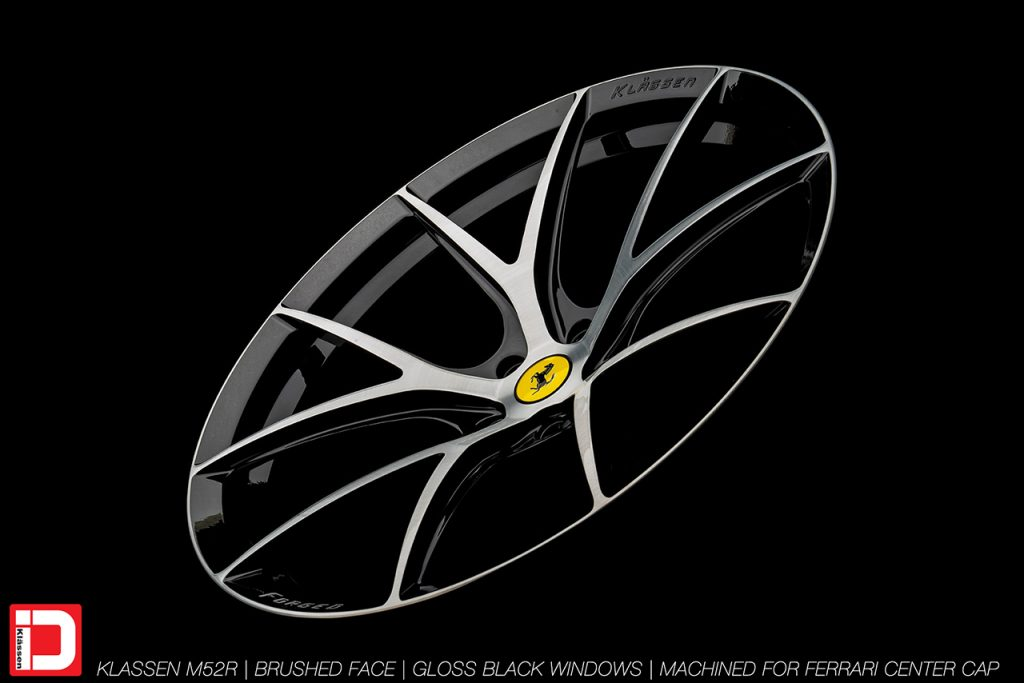 KlasseniD Wheels M52R - Brushed with Gloss Black Windows 8