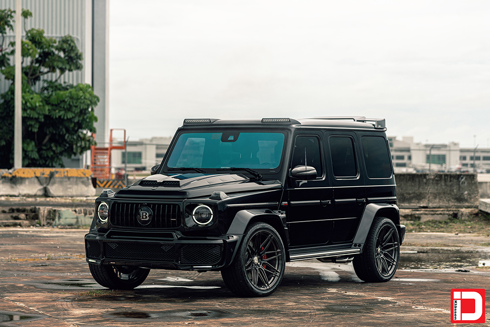 AG MC Black Brabus Wide G Wagon 1