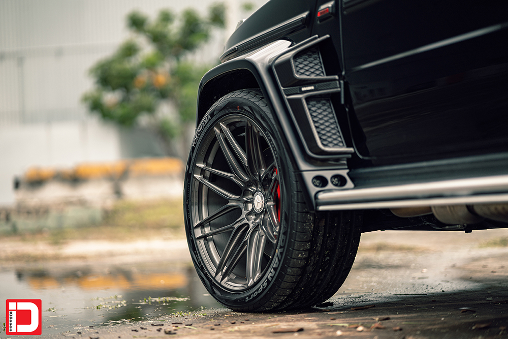 AG MC Black Brabus Wide G Wagon 11