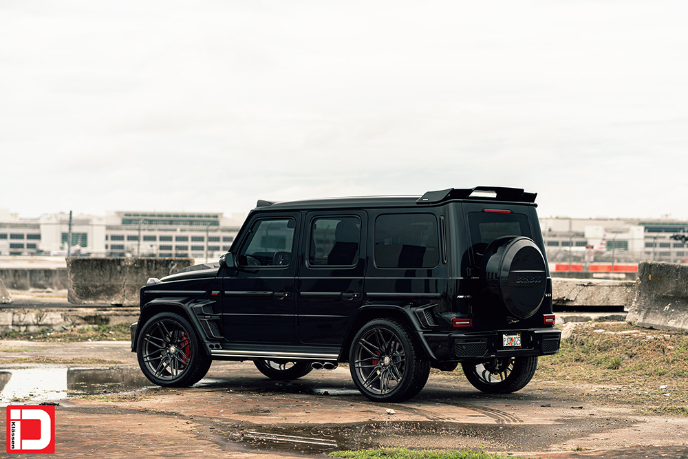 AG MC Black Brabus Wide G Wagon 4