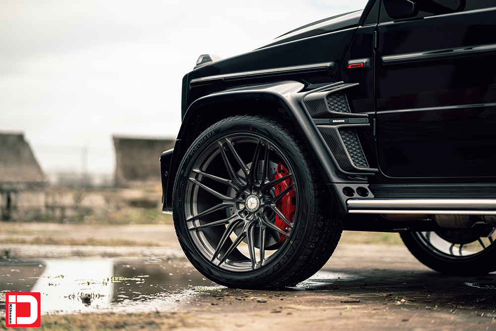 AG MC Black Brabus Wide G Wagon 6